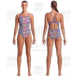 FUNKITA Eye Candy Купальник для бассейна