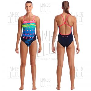 FUNKITA Flamingo Flood Купальник для бассейна