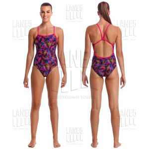 FUNKITA Shaded Palms Купальник для бассейна