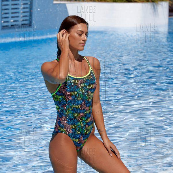 FUNKITA Colour Run Eco Купальник для бассейна детский