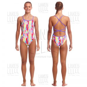 FUNKITA Splat Stat Strapped Купальник для бассейна