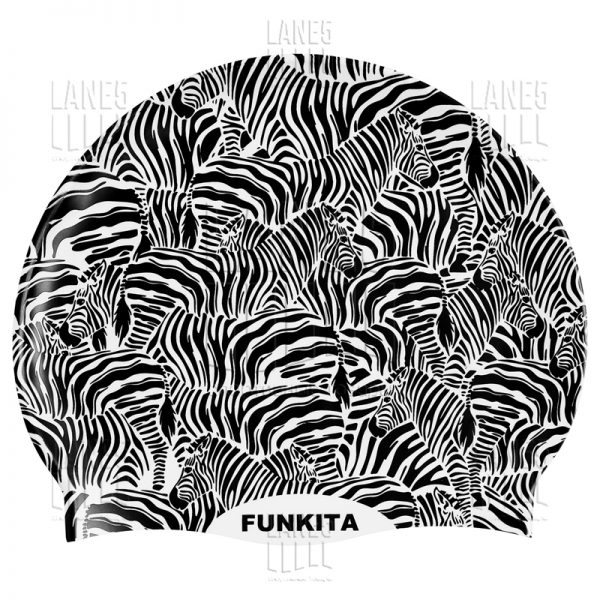 FUNKITA Zebra Crossing Шапочка для плавания