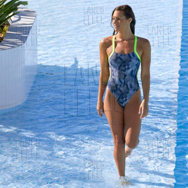 FUNKITA Pointillism Brace Free Купальник для бассейна