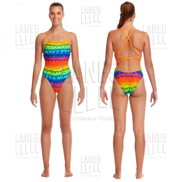 FUNKITA Wing It Strapped Купальник для бассейна