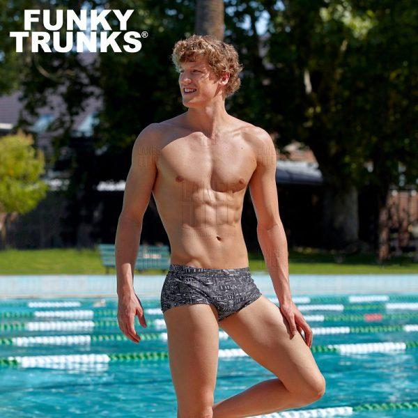 FUNKY TRUNKS City Shadows Плавки для бассейна