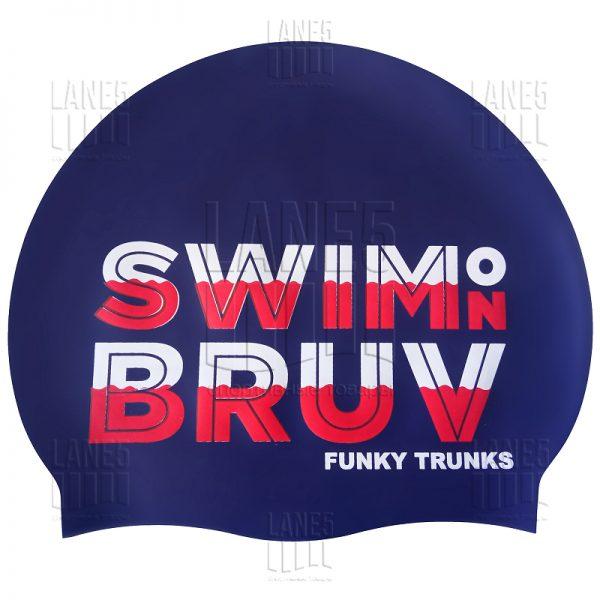 FUNKY TRUNKS Swim On Bruv Шапочка для плавания
