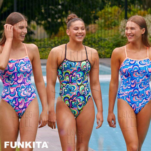 FUNKITA Double Scoop Eco Купальник для бассейна детский