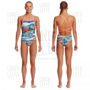 FUNKITA Misty Mountain Strapped Купальник для бассейна