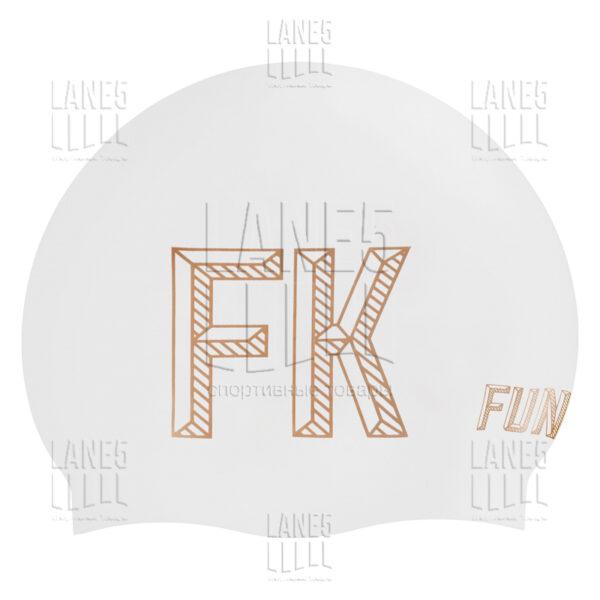 FUNKITA Stencilled White Шапочка для плавания