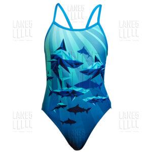 FUNKITA Shark Bay Купальник для бассейна детский
